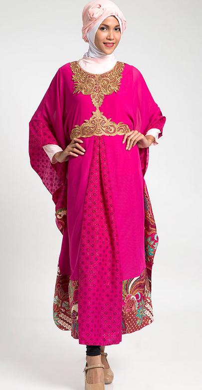Tren Model Baju Muslim Gamis Perempuan Gemuk