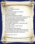Hoy no cuelgo un poema mío. Es de Mistral. Me ha gustado tanto que se lo he . (poema de amor)