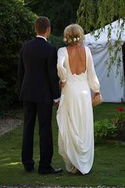 Boho Brudklänning
