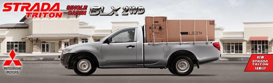 Mitsubishi Strada Triton GLX 2WD Jambi