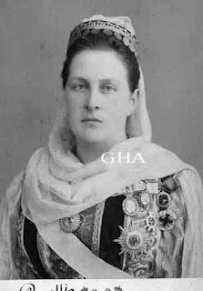 Reine Olga des Hellènes, née grande-duchesse Olga Constantinovna de Russie 1851-1926