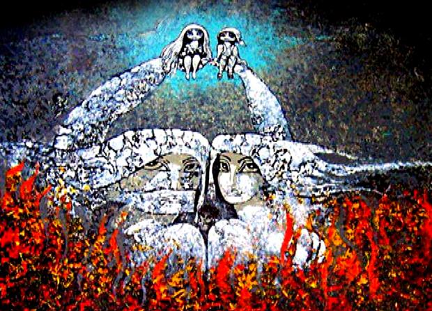 Efraín Recinos Artista Guatemalteco