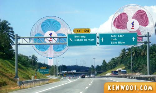1malaysia fan highway