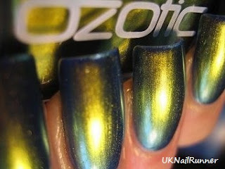 Ozotic 507 over Nails Inc Baker Street