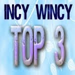 Top 3 Over at Incy Wincy Challenge