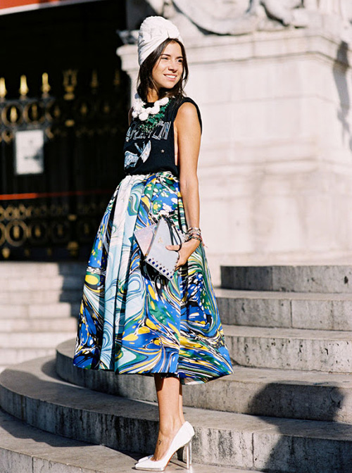 StyleAndPepperBlog.com : : Trendwatch // Full Skirts