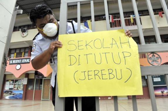 Sekolah di Perak, Pulau Pinang dan Perlis diarah tutup 23 Oktober
