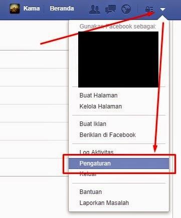 cara login facebook dengan nama pengguna