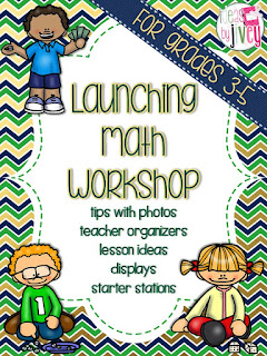 Launching Math Workshop guide with Ideas by Jivey.
