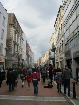 grafton street in dublin ireland