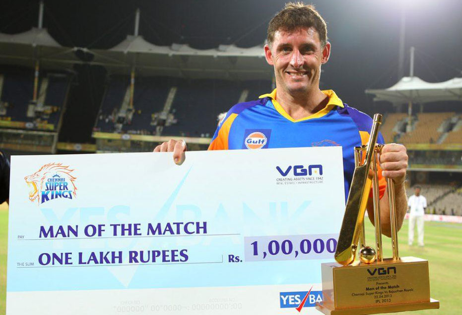 Michael-Hussey-Man-of-the-Match-CSK-vs-RR-IPL-2013