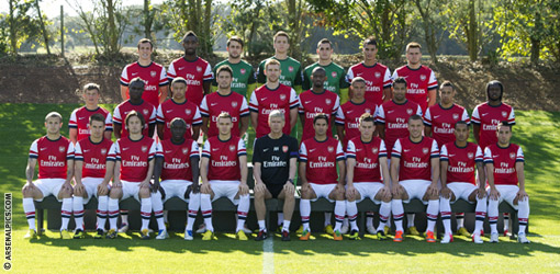 Wallpaper Squad Arsenal 2013