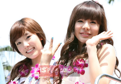 Foto Duo Danshin Sunny dan Taeyeon