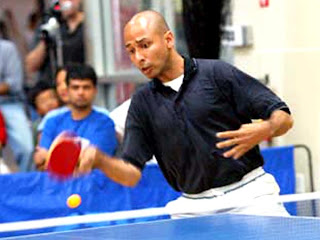 Chetan Baboor, Table Tennis Player.