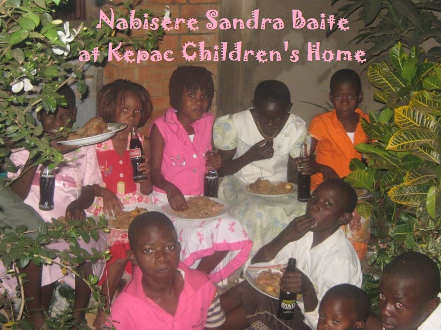 Nabisere Sandra Baite at Kepac Children's Home
