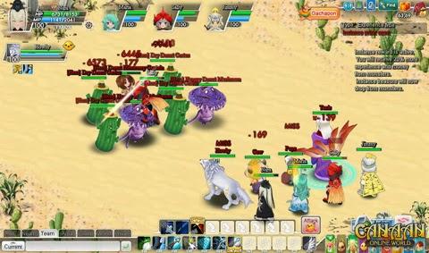 Canaan MMORPG Screenshot