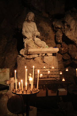 In the Grotto, Copyright 2012 Ceslie Rossi, Used with permission
