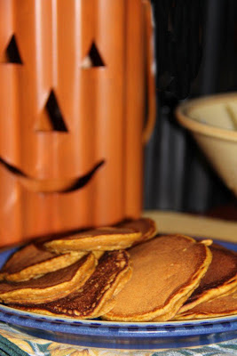 Recipe: Spicy pumpkin pancakes