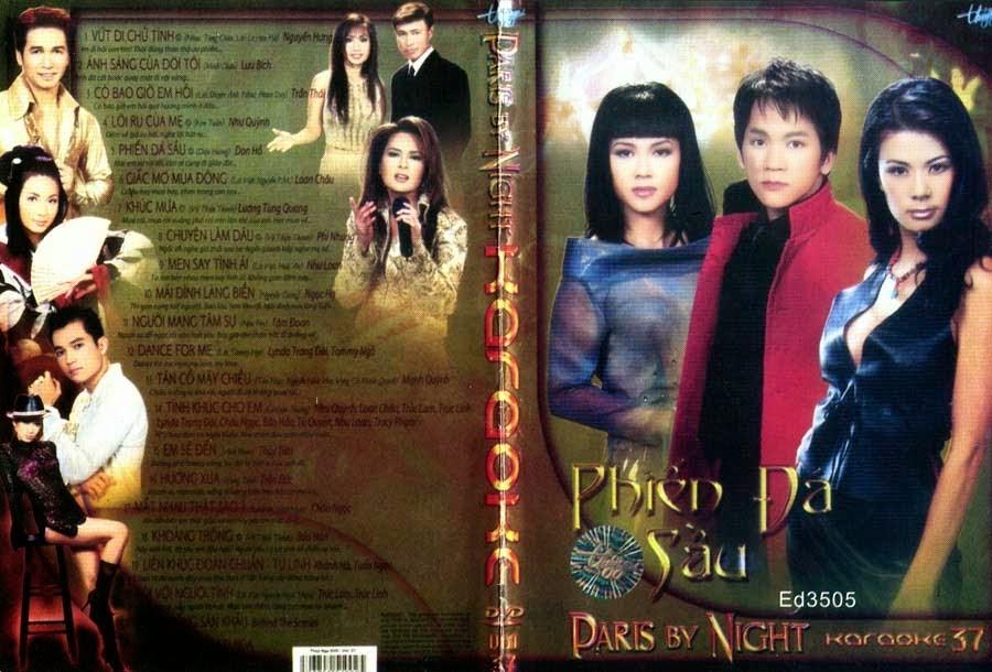 PBN Karaoke 37 – Phiến Đá Sầu (DVD9)