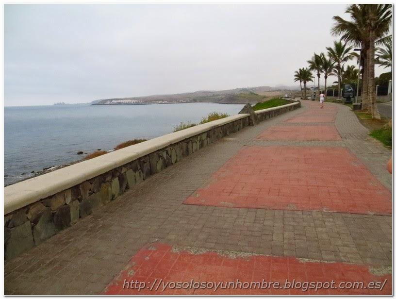 Paseo Marítimo hacia Playa Meloneras