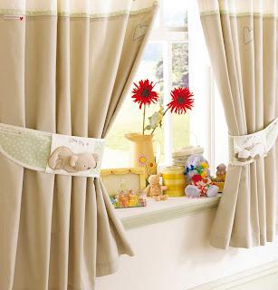 cortinas em cores neutras