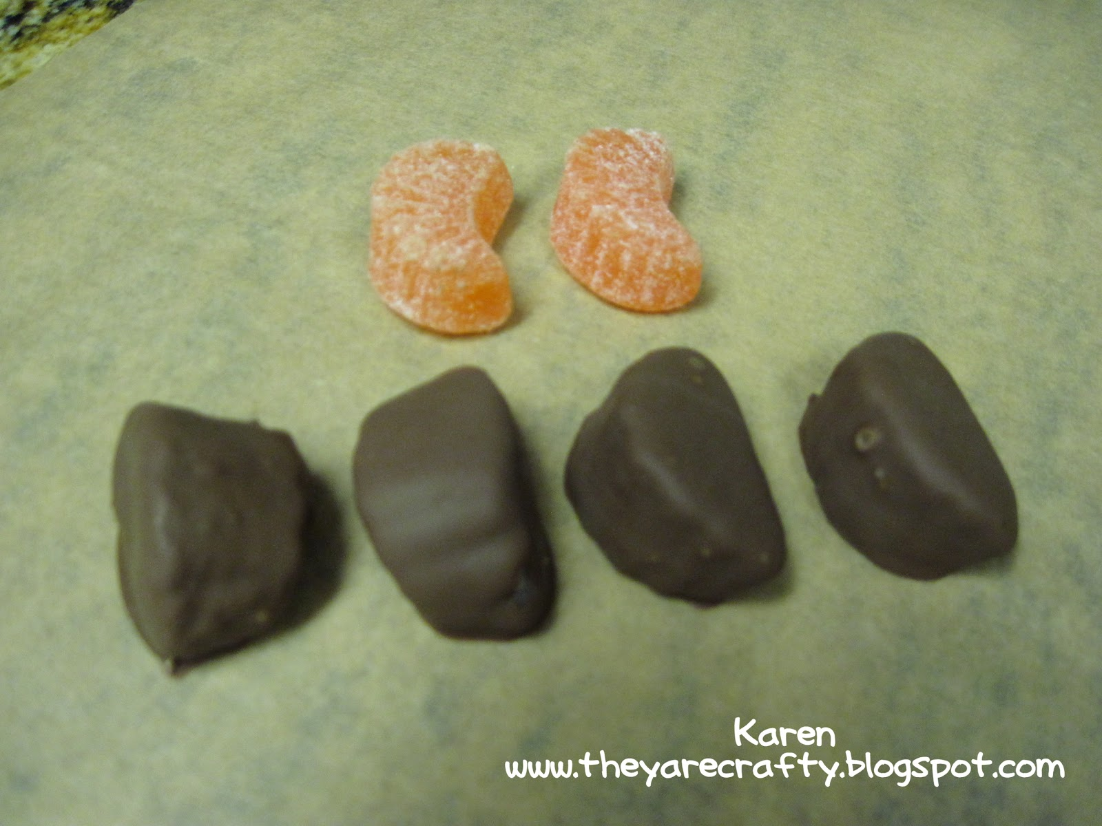 how to make chocolate covered orange slices