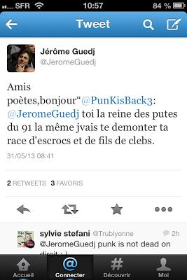 Tweet Jérôme Guedj