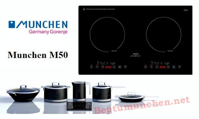 Khuyến mãi khi mua bếp từ munchen m50