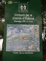 Plafó informatiu del sender PR-C 119