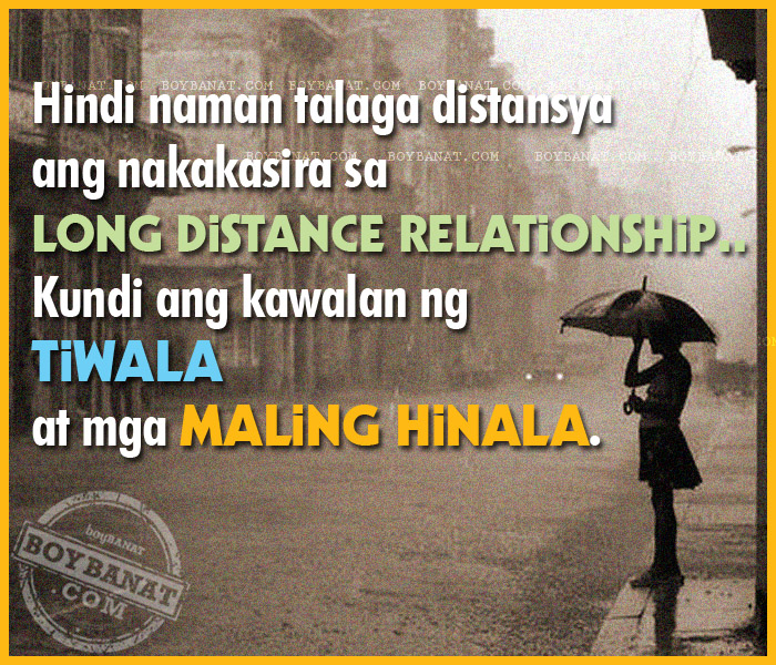 Pinoy Long Distance Relationship Love Quotes and Sayings