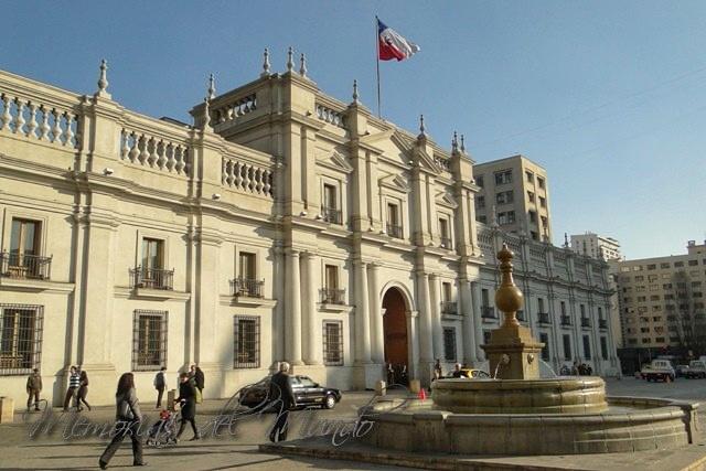 Palacio de la Moneda - Salvador Allende