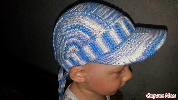 Şişle Örgü Şapka Kasketli Açıklamalı