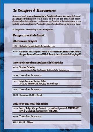1er. CONGRÉS D'HAVANERES 18 D'OCTUBRE DE 2014