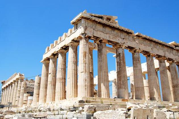Los Dioses y Titanes en la mitolog  237 a Griega son de gran importancia    Ancient Greek Architecture Acropolis
