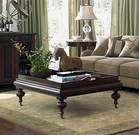 One Of The First Pieces I Fell In Love With Was Restoration Hardwareu0027s Now  Defunct Estate Coffee Table, Pictured Here: