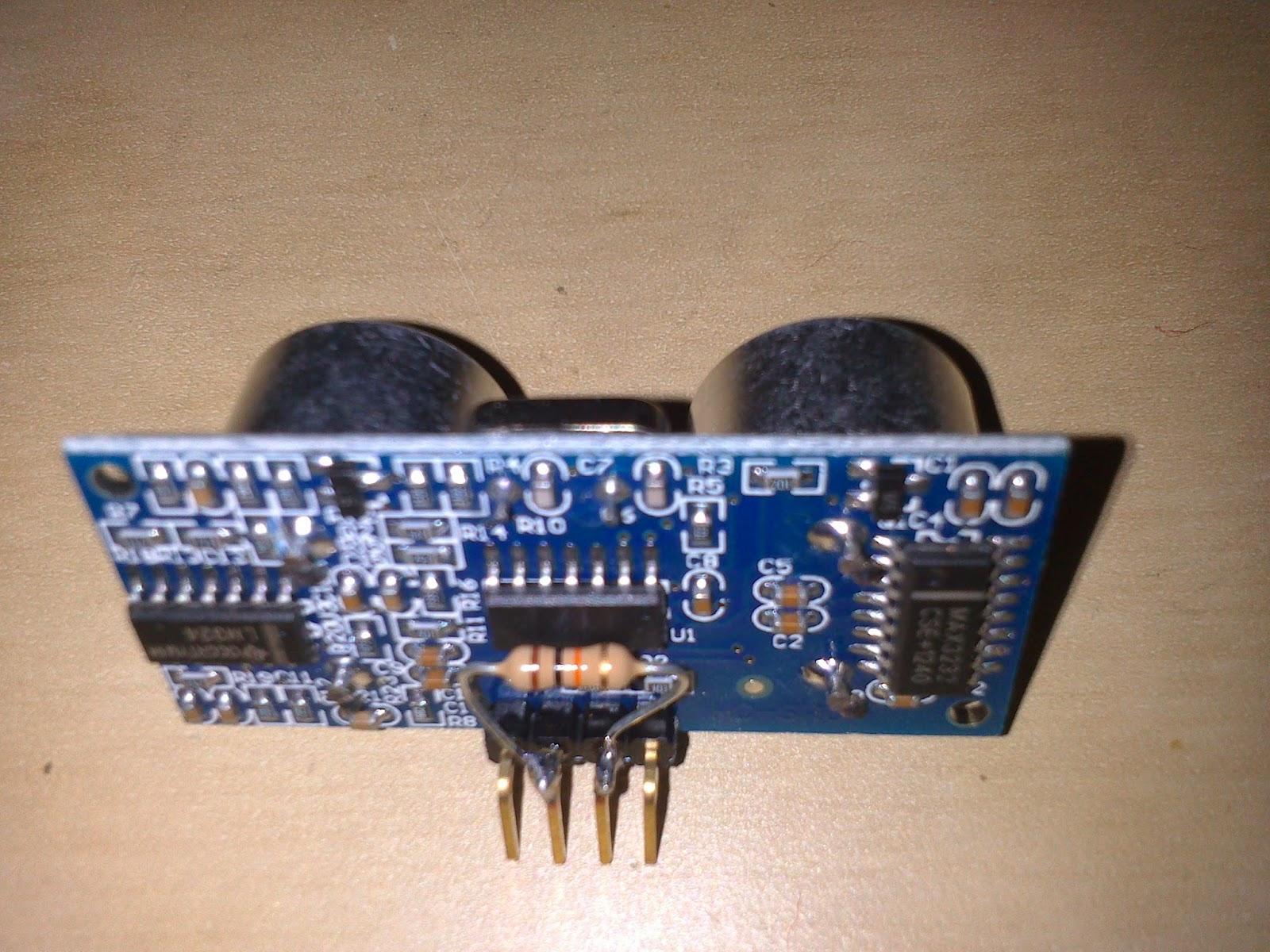 HC-SR04 con placa Picaxe