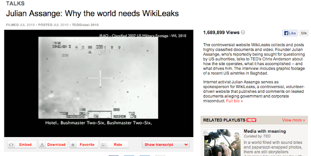 the world needs wikileaks essay You can't believe you're the world's best answer to an important problem without at times coming like wikileaks climate science needs substance—and style.