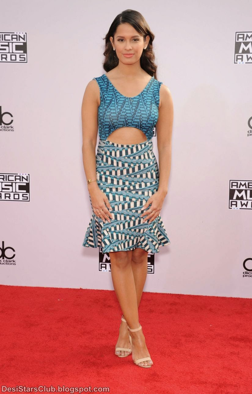 Rocsi Diaz in Short Dress at 2014 American Music Awards