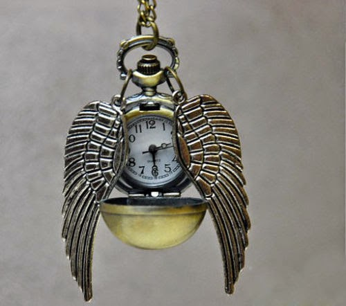 Harry Potter Snitch Pendant Watch