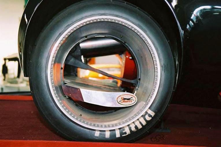 Cómo funciona una rueda sin eje central