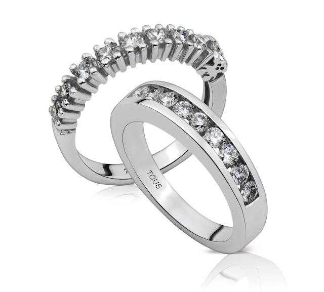 Anillos de pedida de la nueva colección de Tous Érase un sueño: tu boda