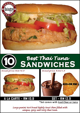 SET 10-Best Thai Tuna Panini