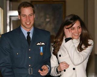 Príncipe William e a Kate Middleton