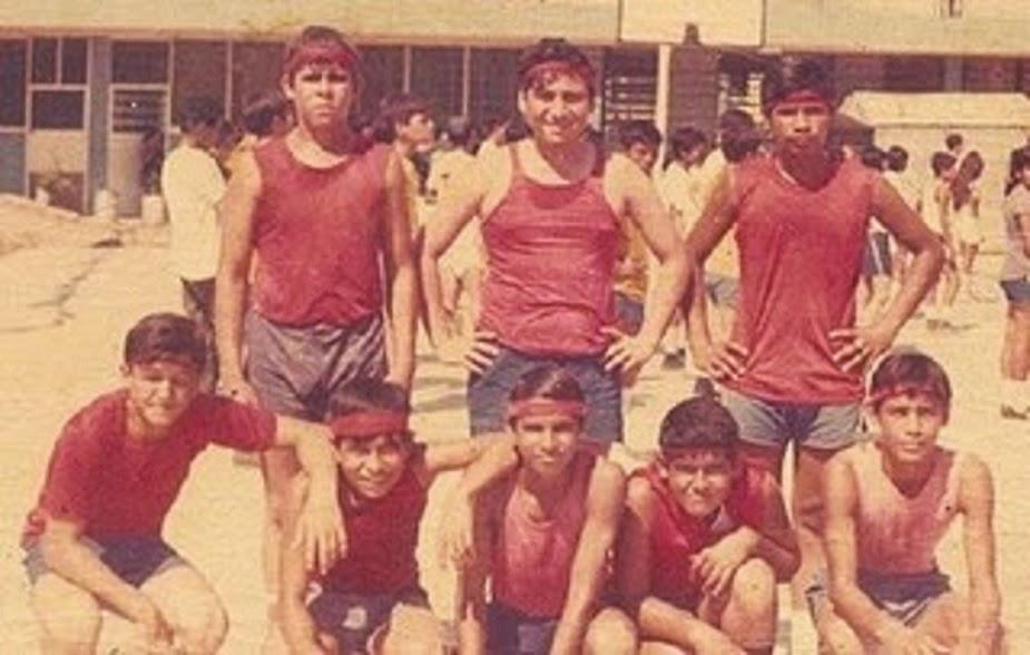 1971 EQUIPO DE BASKET SEGUNDO B SECUNDARIA FEDERAL