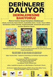 """Ms. Marvel, Black Panther ve Champions İçerikli Ödüllü Yazı Yarışması: """"DERİNLERE DALIYOR, DERİNLEM"""