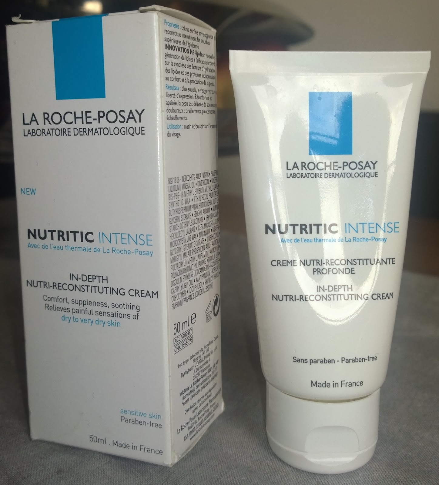 Make Up For Dolls: La Roche-Posay Nutritic Intense – review