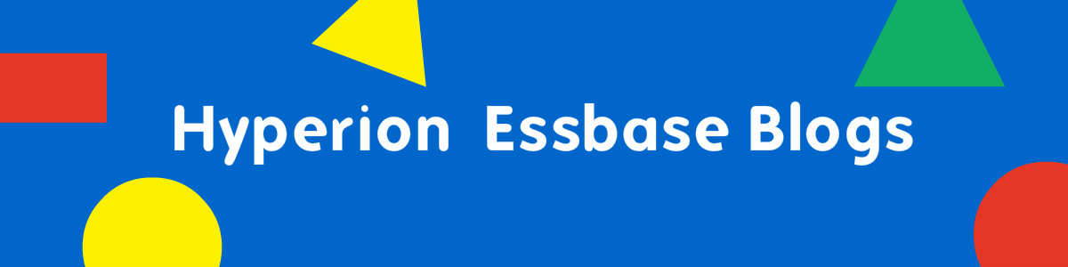 Essbase Blogs