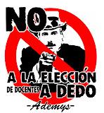 NO A LA ELECCIÓN A DEDO DEL PRO Y SUS ALIADOS!!!