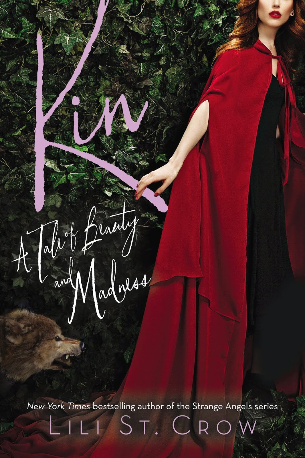 kin by lili st. crow book cover