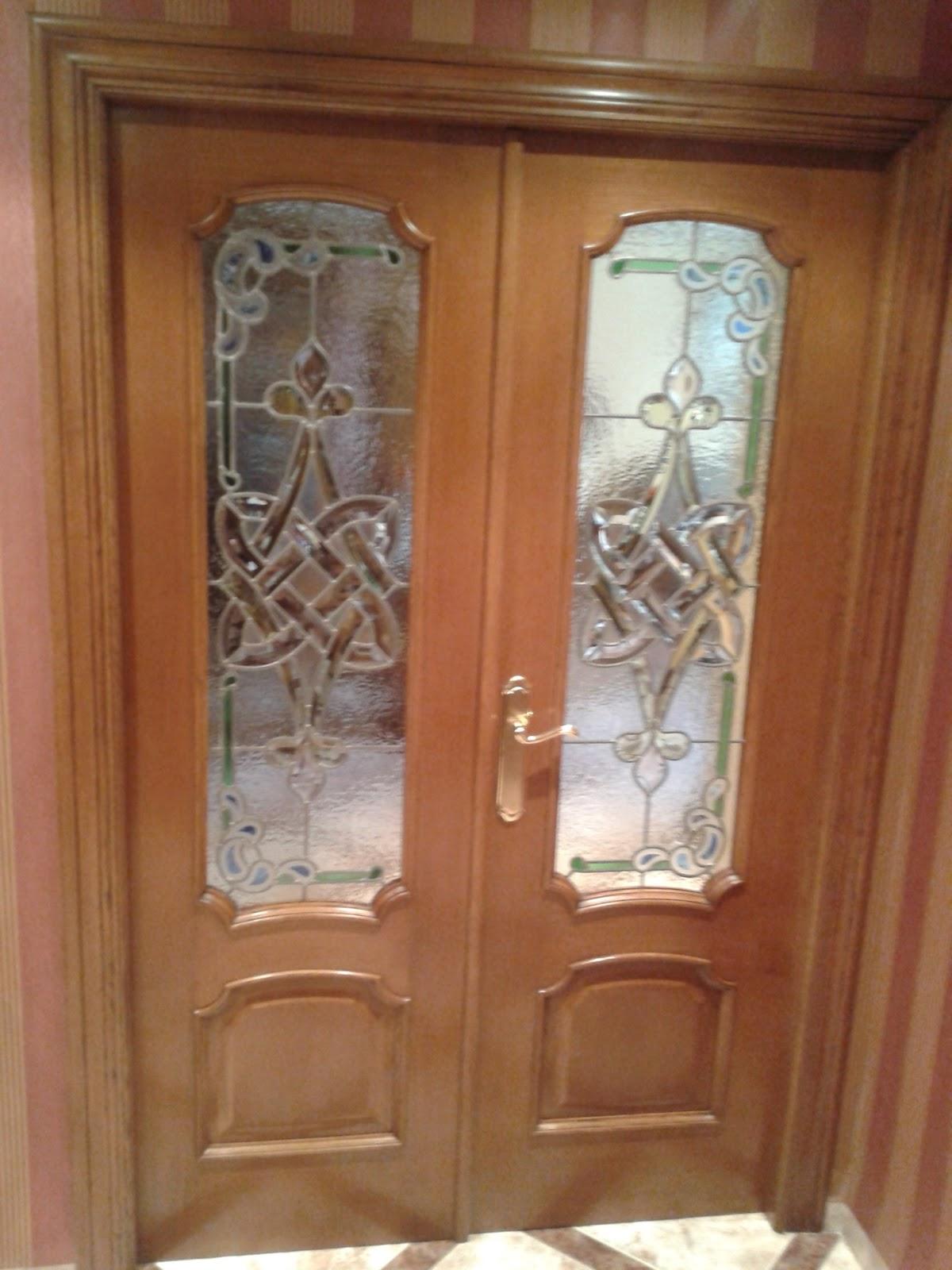 Cristaler a j l ferrer vidrieras emplomadas - Vidrieras para puertas ...